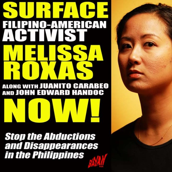 Surface Melissa Roxas NOW!